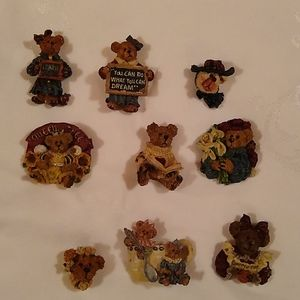 Boyds Bear Pin Assortment (9)